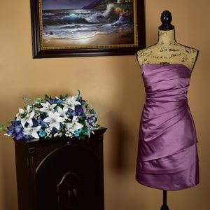 David's Bridal Bridesmaid - Purple